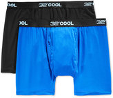 32 Degrees Cool Men's Boxer Briefs, 2 Pack