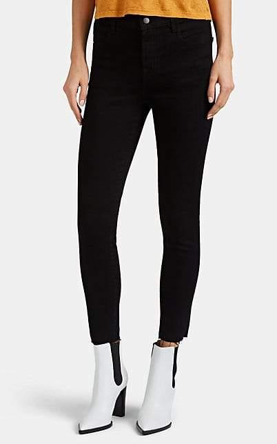 J Brand Women's Alana Crop Skinny Jeans - Black