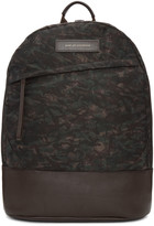 WANT Les Essentiels Brown Camo Kastrup Backpack
