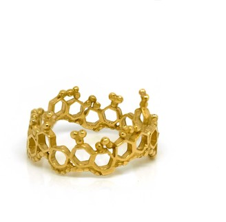Annabelle Lucilla Jewellery Apollo Ring Gold