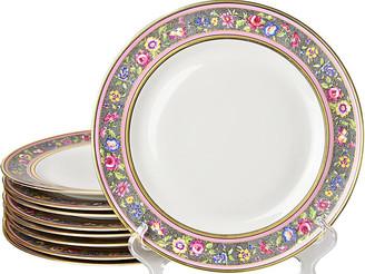 One Kings Lane Vintage Limoges Dinner Plates - Set of 9 - Portfolio No.6