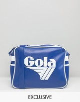 Gola Classic Redford Messenger Bag In Blue