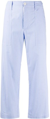 Jejia Cropped Striped Trousers