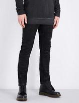 Boris Bidjan Saberi Slim-fit skinny mid-rise stretch-cotton jeans