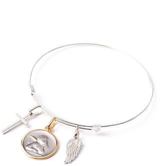 Alex and Ani Love Charm Bracelet