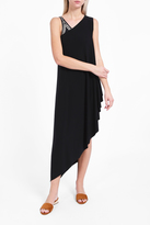 Norma Kamali One-Shoulder Diagonal Tunic