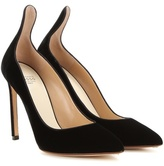 Francesco Russo Velvet Pumps
