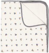 Ralph Lauren Printed Doubled Cotton Interlock Blanket