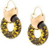 Ellery Hush Tire earrings