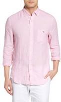 Vineyard Vines Men's Tucker Classic Fit Linen Sport Shirt