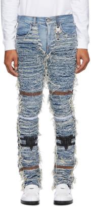 Alyx Blue Blackmeans Edition Six-Pocket Jeans
