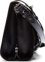 Proenza Schouler Cadet Blue Leather Cross-Body Satchel