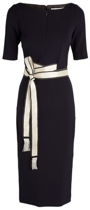 Amanda Wakeley Belted Midi Dress