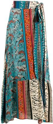 CHUFY Printed Maxi Skirt
