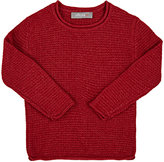 Officina51 Stockinette-Stitched Wool-Blend Sweater-RED
