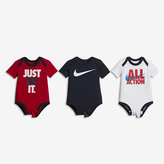 "Nike All Action"" Three-Piece Infant Bodysuit Set"