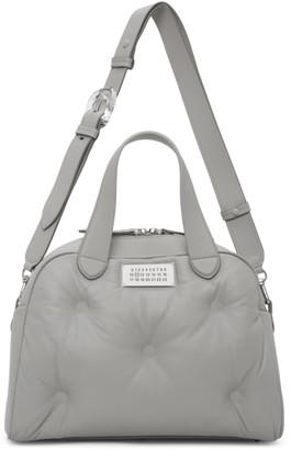 Maison Margiela Grey Glam Slam Top Handle Bag