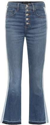 Veronica Beard Carolyn high-rise bootcut jeans