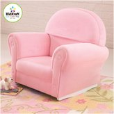 Kid Kraft Upholstered Rocker with Slip Cover - Pink