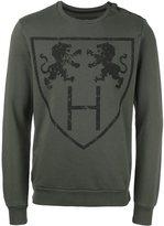 Hydrogen lions print sweatshirt