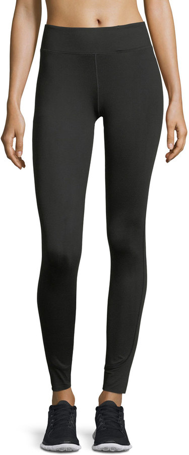 Monreal London Essential High-Rise Performance Leggings, Black