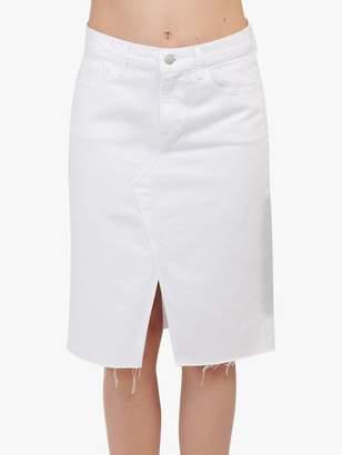 J Brand Trystan High Rise Denim Pencil Skirt