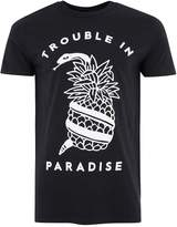 Art Disco Black Snake and Pineapple T-Shirt*