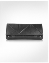 Shibuya - Foldover Nappa Leather Clutch