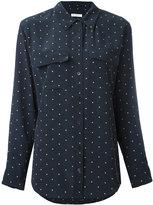 Equipment dot print shirt - women - Silk - S