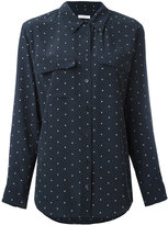 Equipment dot print shirt - women - Silk - XS