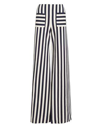 Hellessy Luc Striped Wide Leg Pants