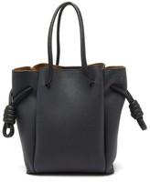Loewe Flamenco Small Leather Tote Bag - Womens - Blue