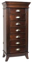 Household Essentials Hives & Honey Hillary Jewelry Armoire Walnut