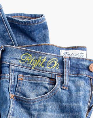 "Madewell Taller 10"" High-Rise Skinny Jeans in Rosedale"