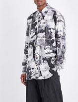 Vivienne Westwood Graphic faces-print classic-fit woven shirt