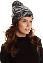 Cole Haan Thermal Grid Pompom Beanie