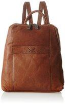 Sansibar Backpack, Women's Backpack Handbag, Braun (Cognac), 26x29x9 cm (B x H T)