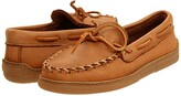 Minnetonka Moosehide Classic (Natural) Men's Clog/Mule Shoes