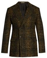 Bottega Veneta Double-breasted Wool-blend Tweed Blazer