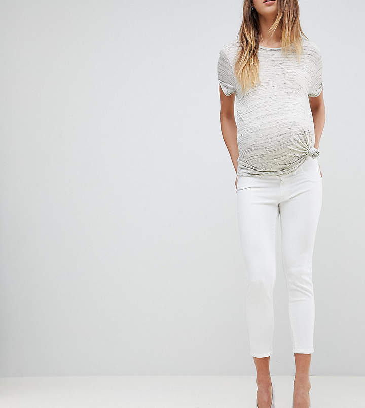 DL1961 Maternity Florence Crop Skinny Jean