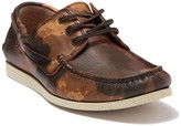 Frye Briggs Leather Boat Shoe