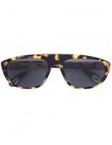 Linda Farrow x Ann Demeulemeester tortoiseshell effect sunglasses