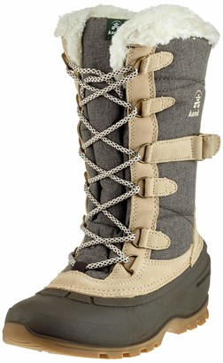 Kamik Women's Snovalley 2 Brown High-Top Snow Boot - 6M