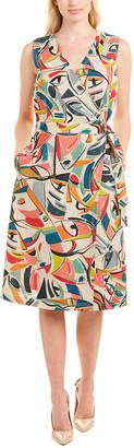 Lafayette 148 New York Pammie Wrap Dress