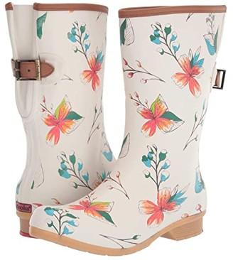 Chooka Tropics Bainbridge Adjustable Mid Boot (Cream) Women's Shoes
