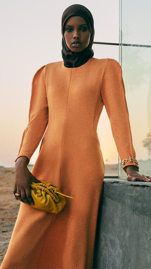 Tibi Origami Dress