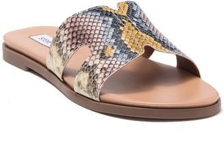 Steve Madden Hoku Leather Slide Sandal