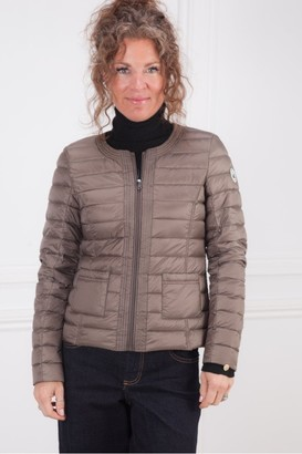 JOTT Douda Collarless Jacket In Taupe - Large
