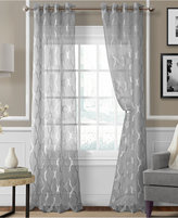 "Elrene Sonata Sheer Grommet 52"" x 95"" Panel"