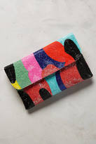Anthropologie Pop Art Clutch